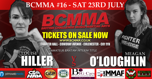 Irish female duo to compete for titles at BCMMA 16 in England