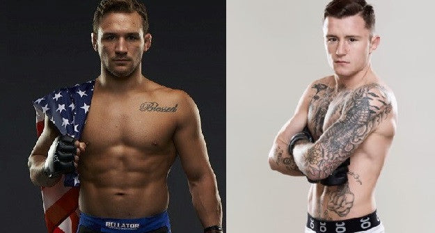 James Gallagher & Bellator Champ Mike Chandler exchange words on Twitter