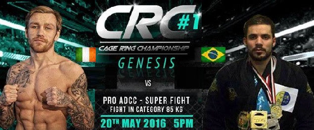Philip Mulpeter to face Hugo Borim in ADCC rules at CRC