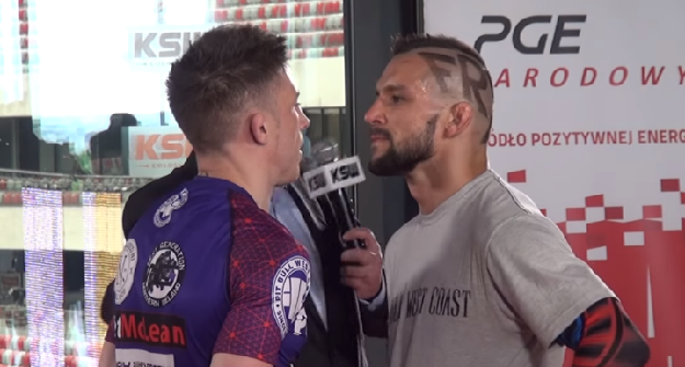 [Video] Parke vs. Gamrot media day staredown