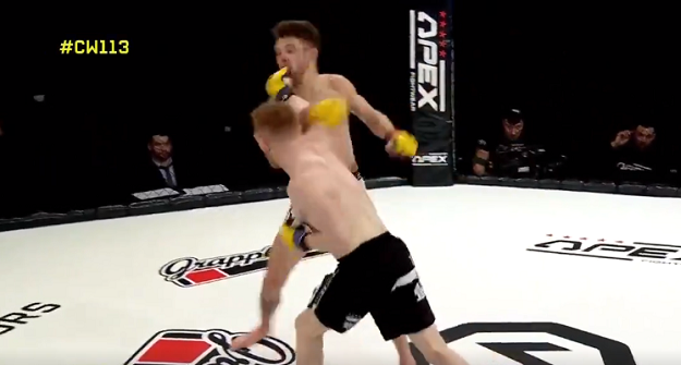 Hignett KO's Darren O'Gorman at Cage Warriors 113