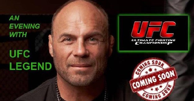 Randy Couture is coming to Ireland