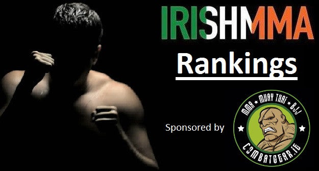 Irish MMA Rankings - June, 2017