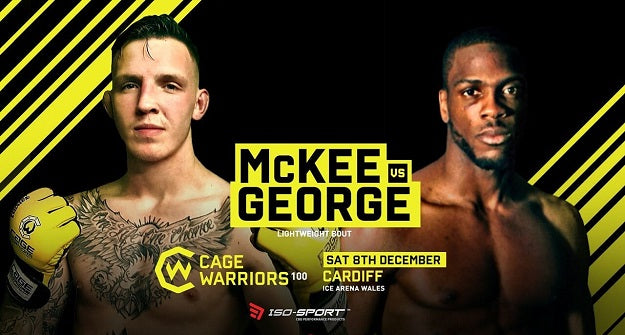 Rhys McKee added to Cage Warriors 100