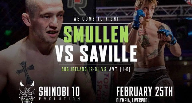 Richie Smullen gets the win on a tough night for Irish fighters in Liverpool