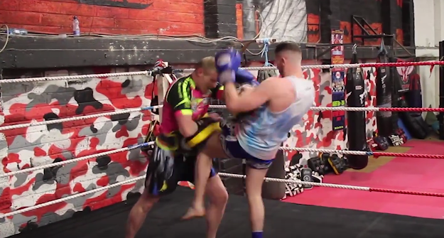 [Video] Ryan Sheehan hitting pads