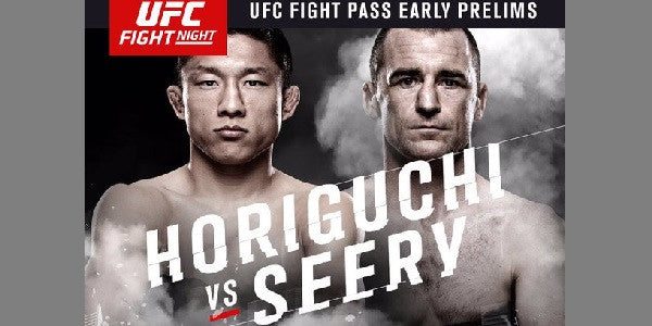 Neil Seery to headline the Fight Pass Prelims
