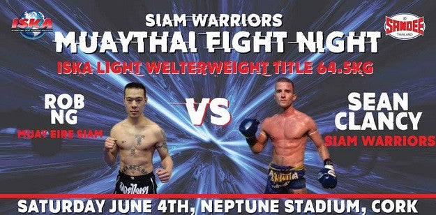 Siam Warriors Muay Thai Fight Card