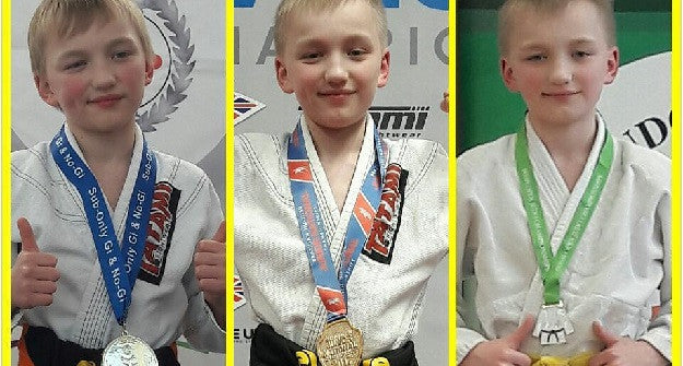 Meet Young Irish Grappling Prodigy Tristan Logue
