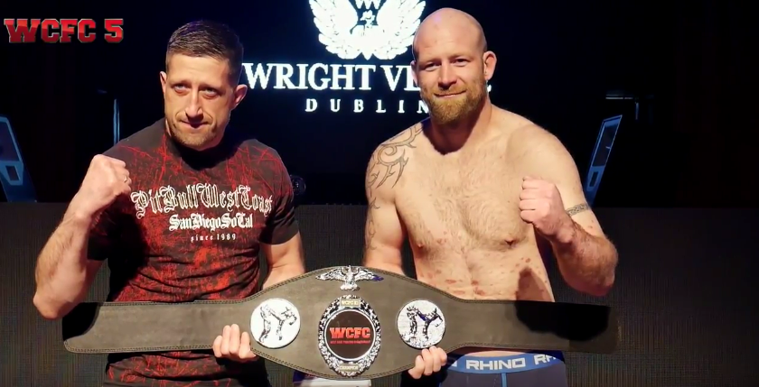 WCFC 5 Weigh In Video