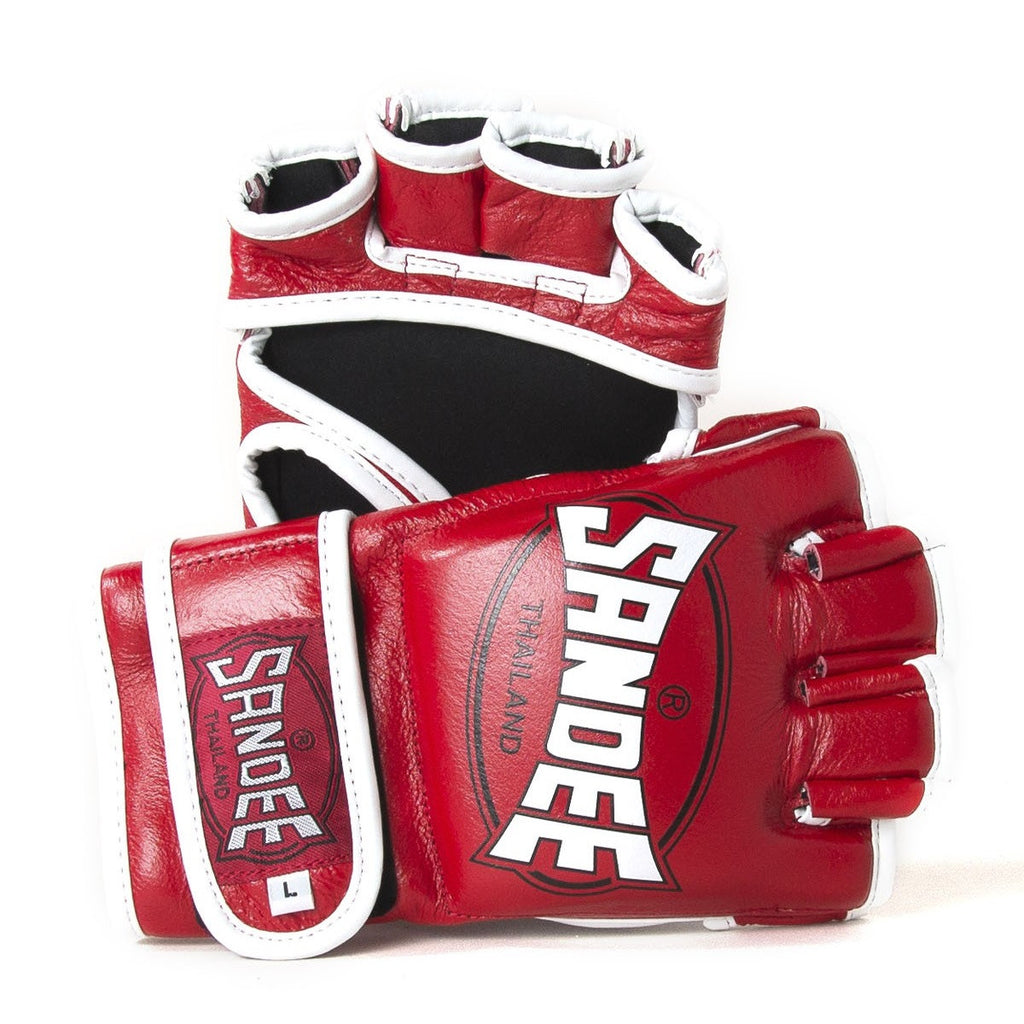 Sandee 4oz MMA Gloves - Red