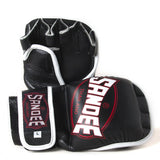 Sandee 7oz MMA Gloves - Black
