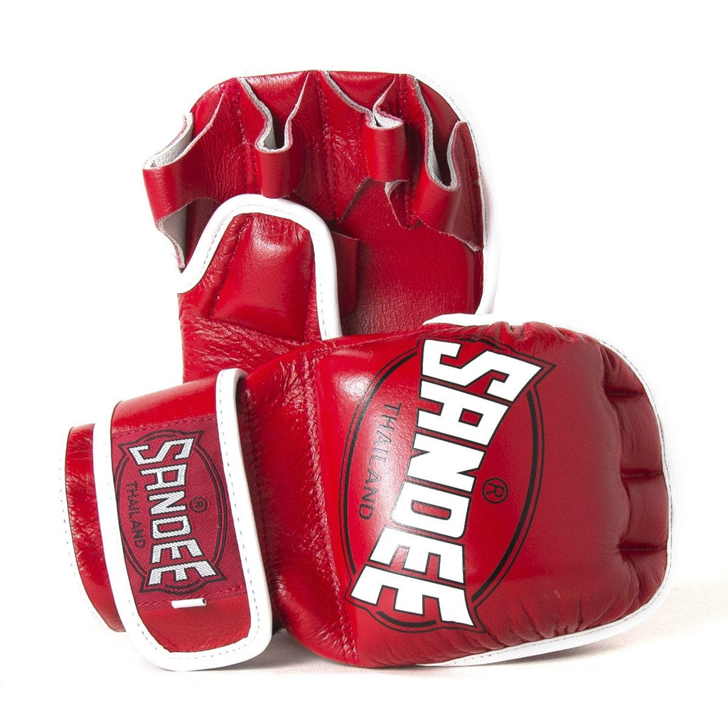 Sandee 7oz MMA Gloves - Red