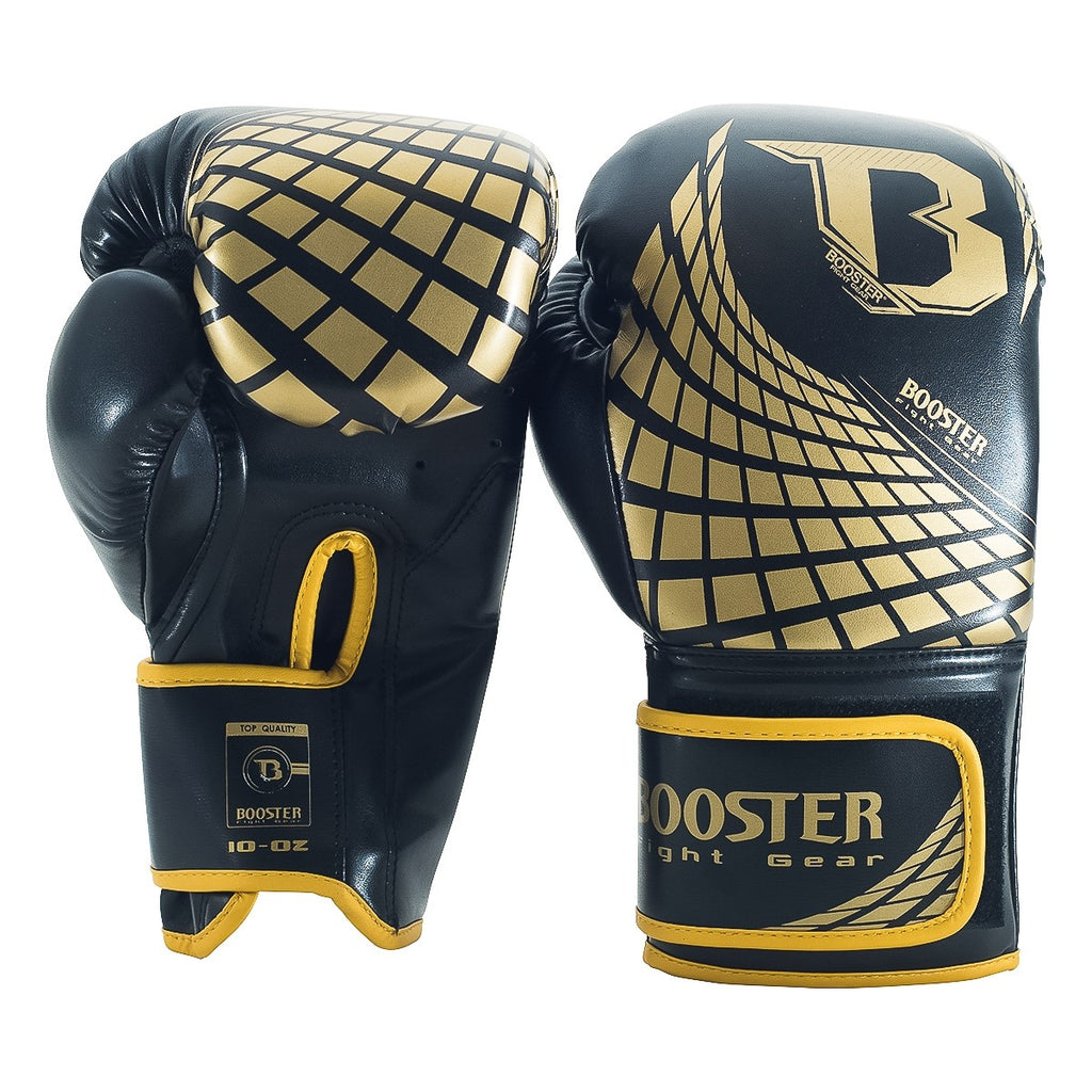 Booster Cube Gold Gloves 14oz