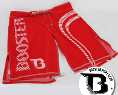 Booster Pro 2 MMA Shorts Red