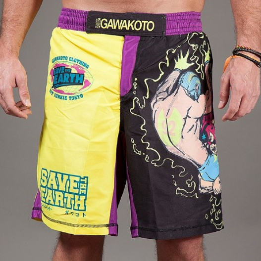Gawakoto 'Save the Earth' MMA & Grappling Shorts