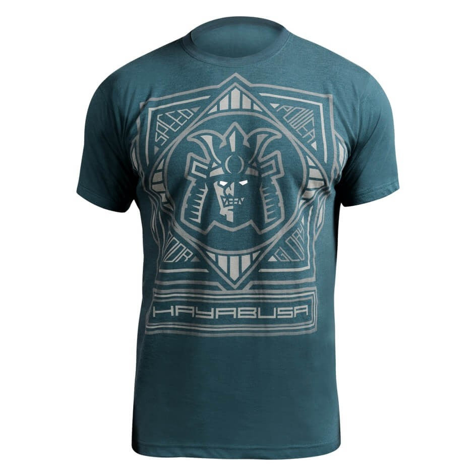 Hayabusa Warrior Code T-Shirt - Blue