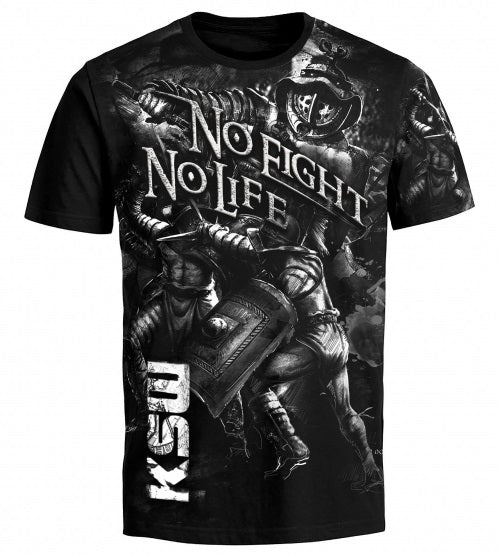 KSW No Fight No Life Tee