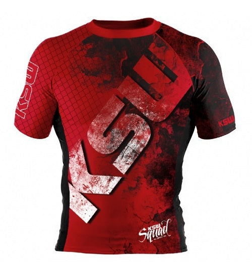 KSW Rashguard Red