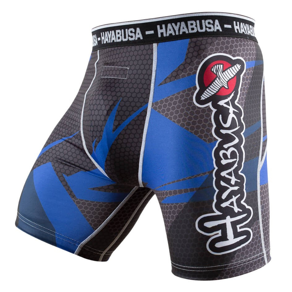 Hayabusa Metaru Compression Shorts Blue