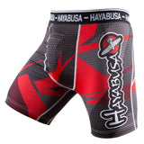 Hayabusa Metaru Compression Shorts Red