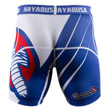 Hayabusa Recast Compression Shorts - Blue/White