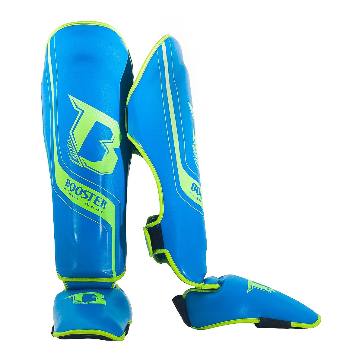 Booster Enforcer Shin Guards - Blue