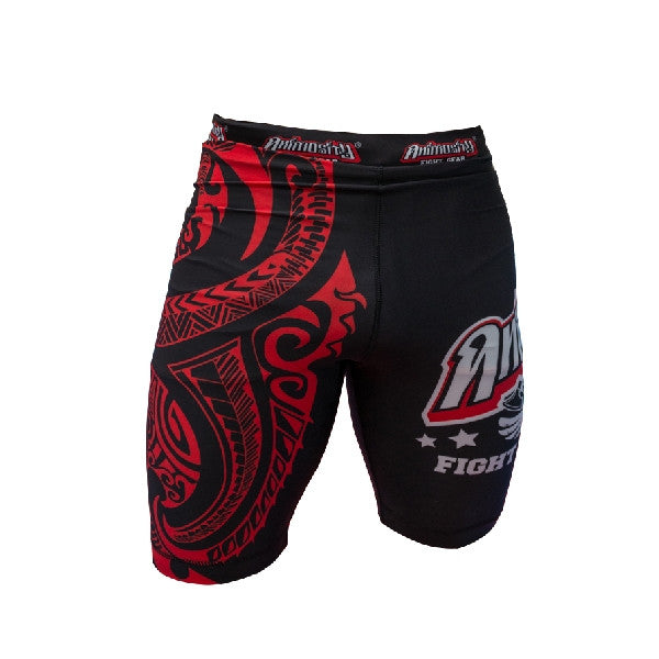 Animosity 'Tribal2' Compression Shorts Black