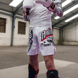 Animosity 'Tribal2' MMA Shorts White
