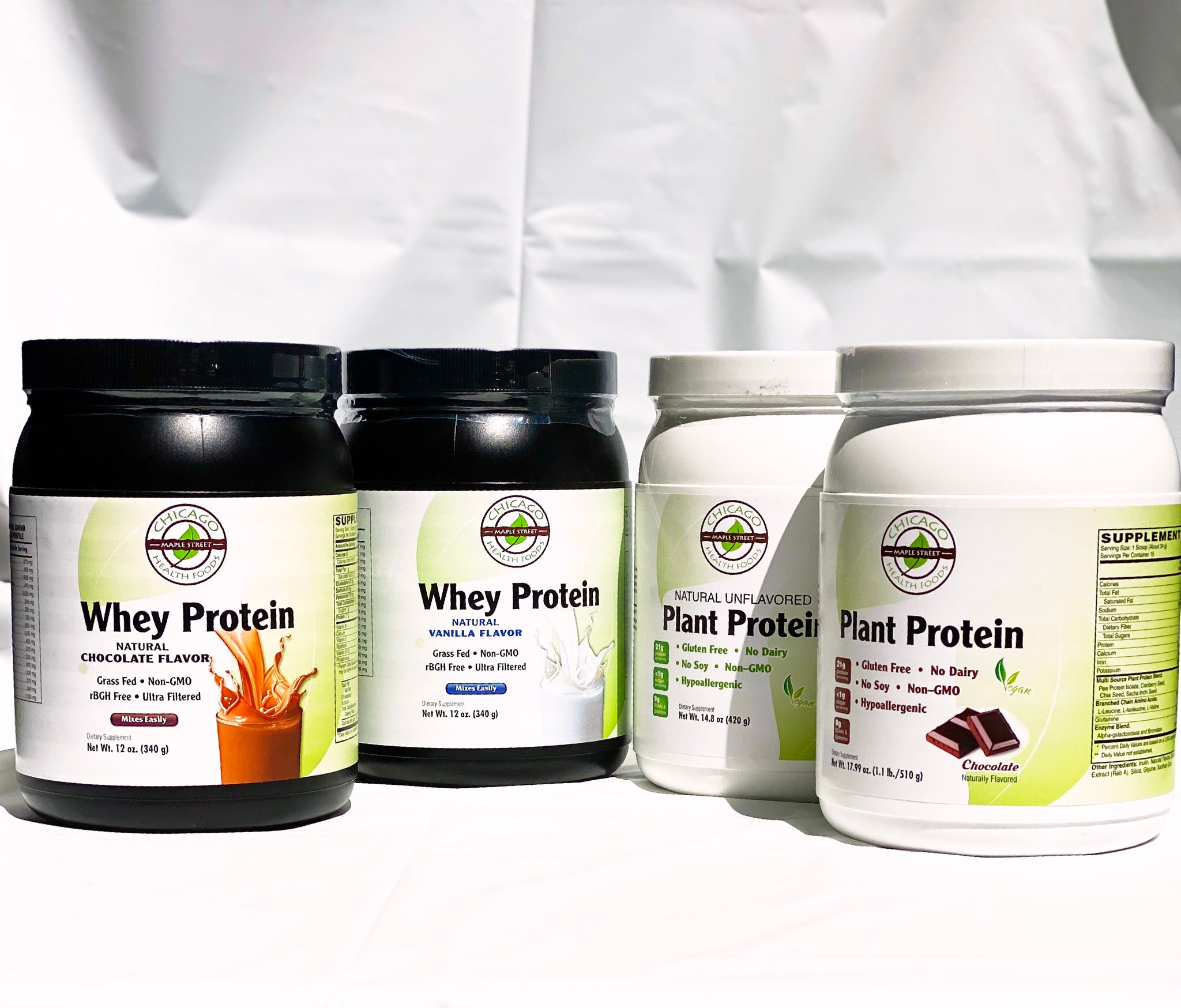 Whey Protein vs. Plant Protein Powder?