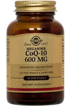 Megasorb CoQ-10 600 mg 30 Softgels