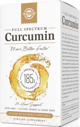 Full Spectrum Curcumin 60 liquid softgels