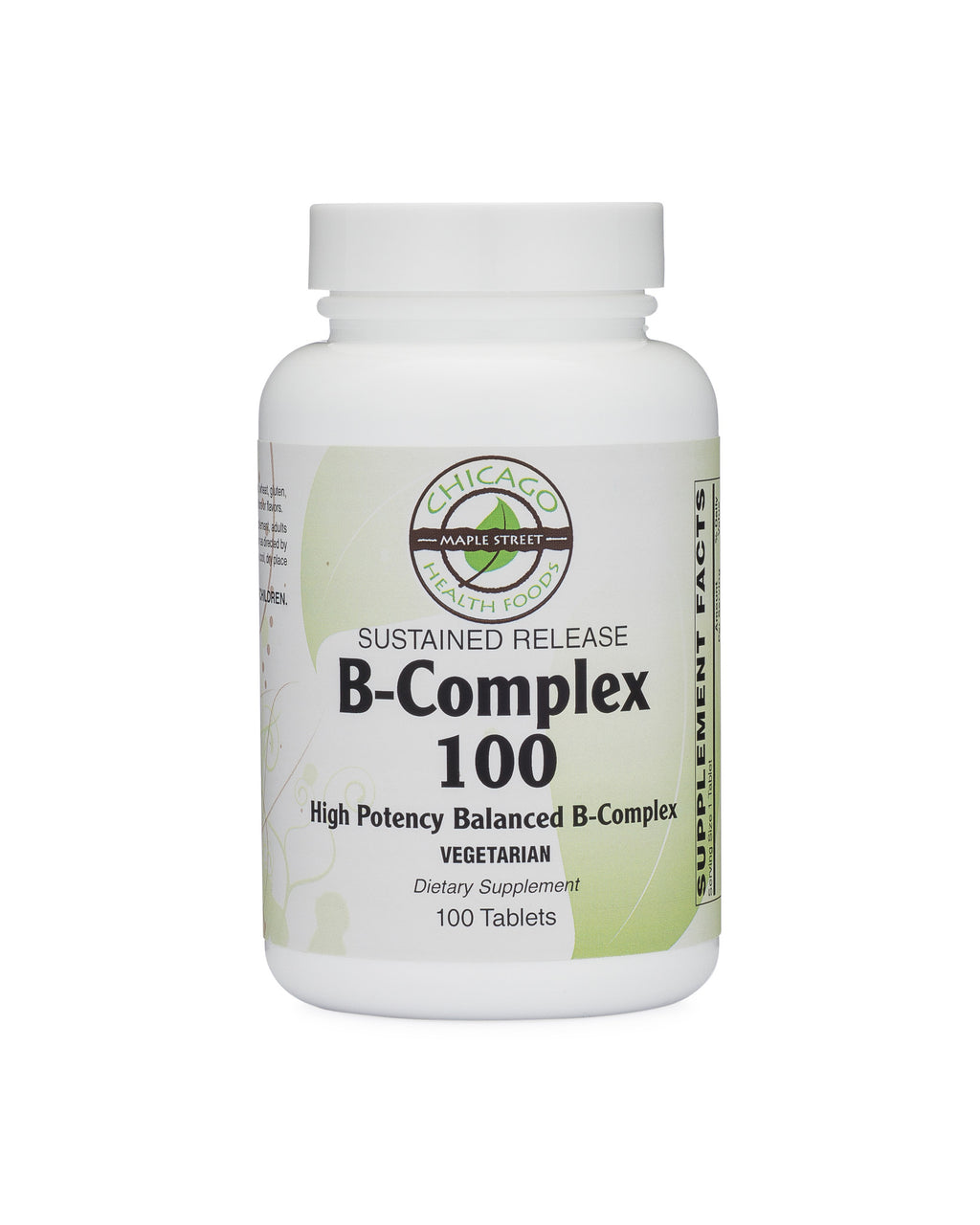 B-Complex 100-supplement-Chicago-Health-Foods