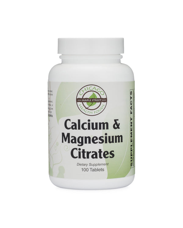 Calcium & Magnesium Citrates-supplement-Chicago-Health-Foods