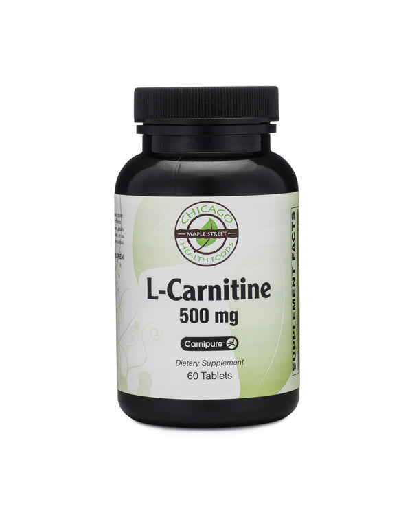 Chicago Health Foods L-Carnitine 500 mg 60 tablets