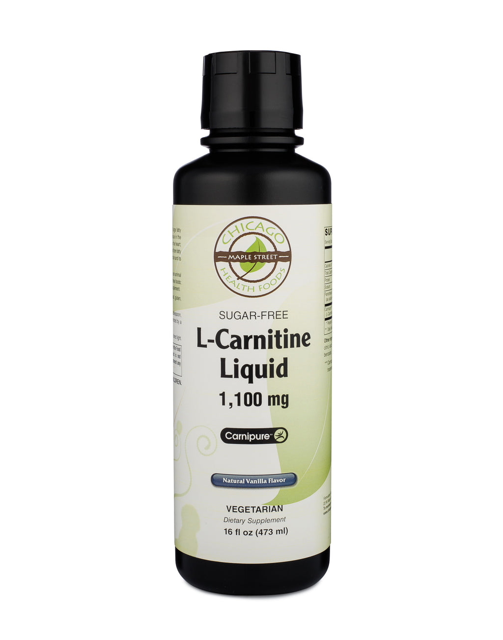 Chicago Health Foods L-Carnitine Liquid 1,100 mg Sugar Free