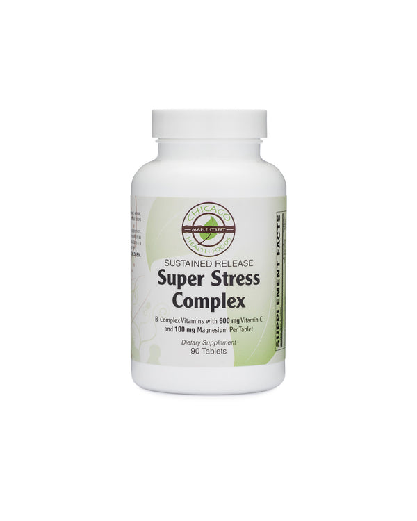 Stress complex sustained-release valerian b vitamins magnesium 60 tablets chicago health