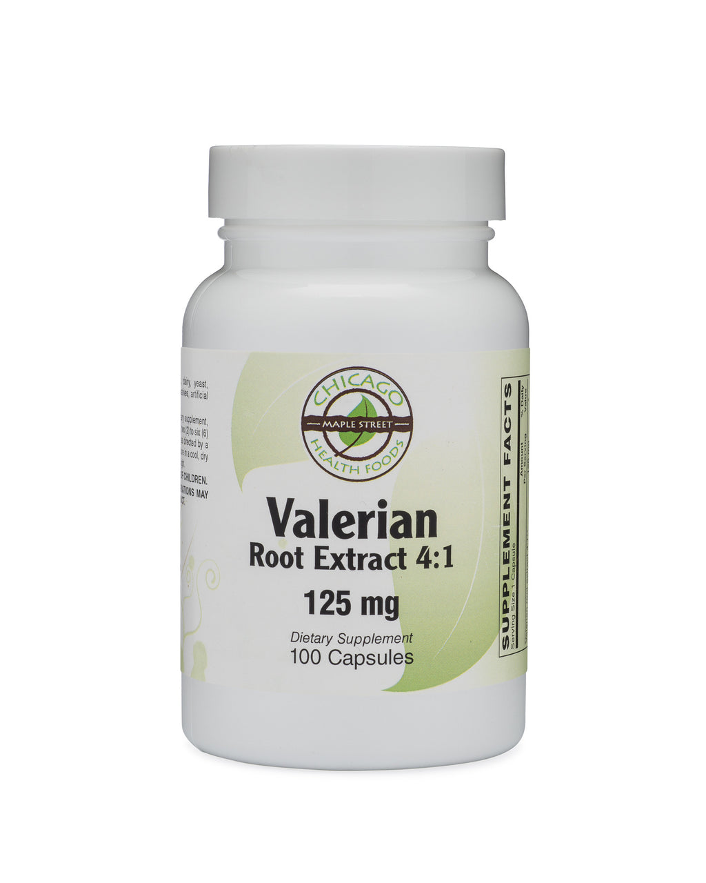 Valerian root extract 125mg 100 capsules chicago health
