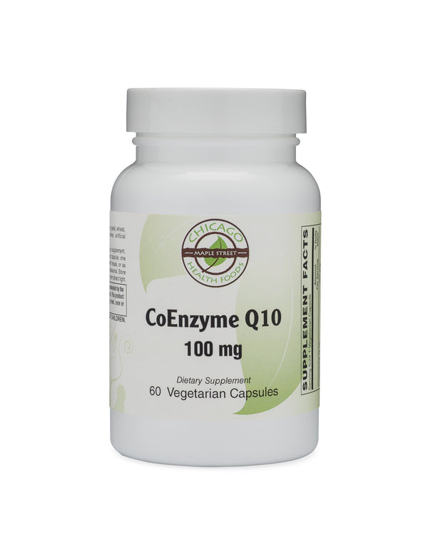 CoEnzyme Q10 100mg-supplement-Chicago-Health-Foods
