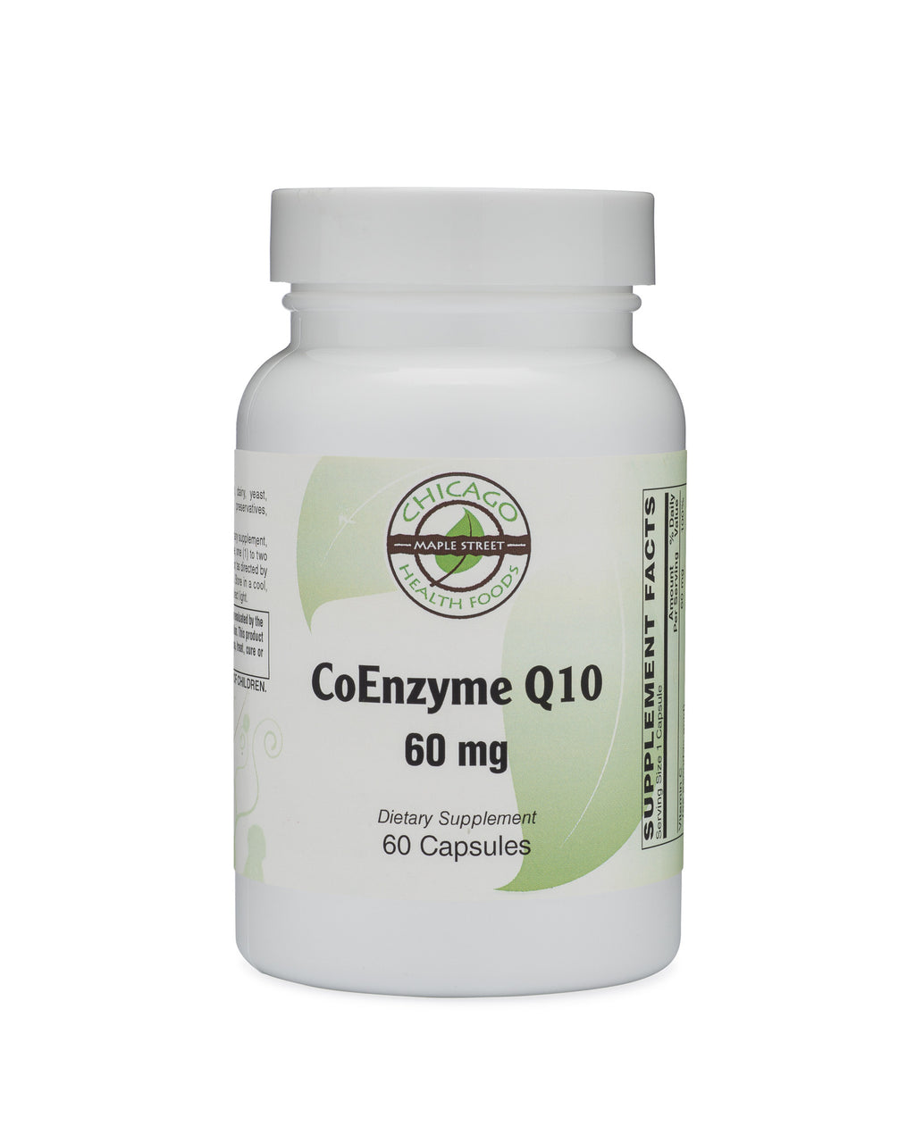 CoEnzyme Q10 60mg-supplement-Chicago-Health-Foods