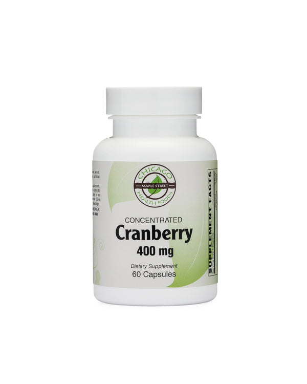 Cranberry 400mg-supplement-Chicago-Health-Foods