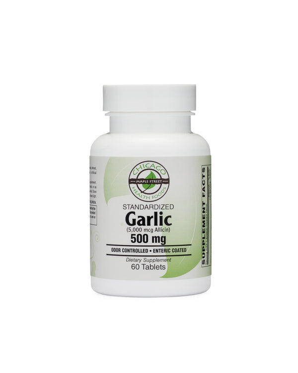 Garlic 500mg-supplement-Chicago-Health-Foods