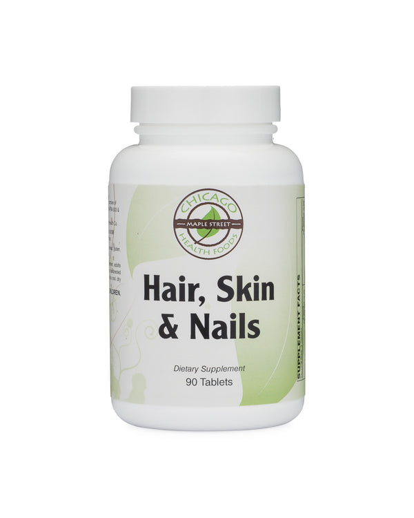 Hair skin nails-supplement-Chicago-Health-Foods