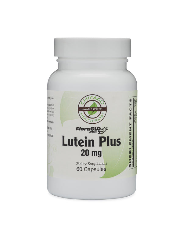 Lutein 20 mg-supplement-Chicago-Health-Foods