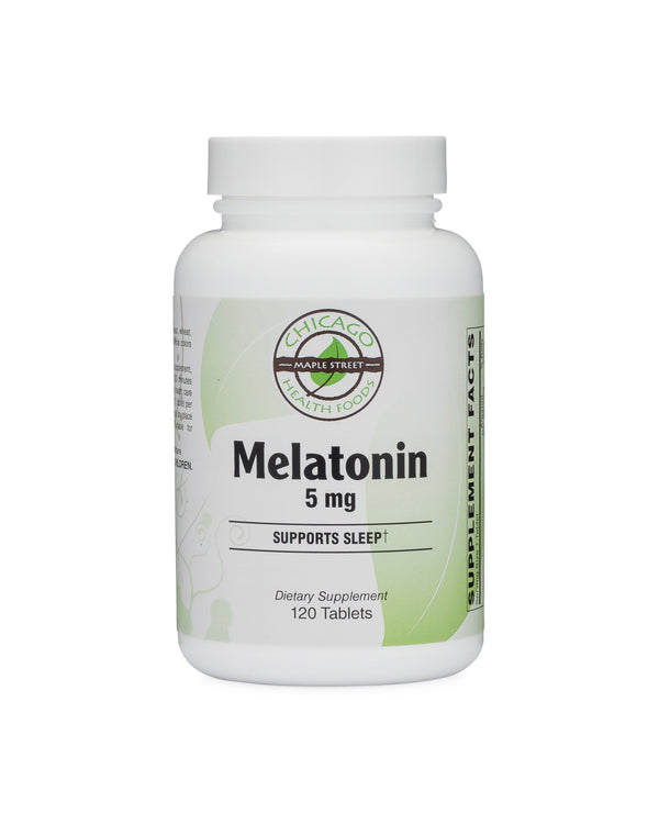 Melatonin 5 mg-supplement-Chicago-Health-Foods