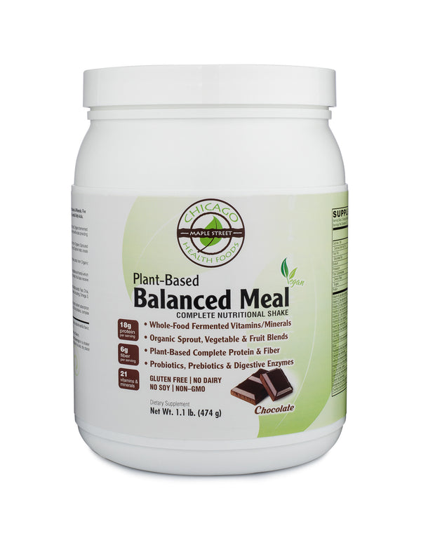Plant Based Balanced Meal Chocolate-supplement-Chicago-Health-Foods