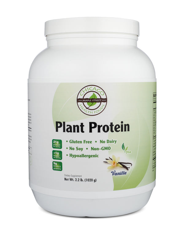 Plant Protein vanilla-supplement-Chicago-Health-Foods