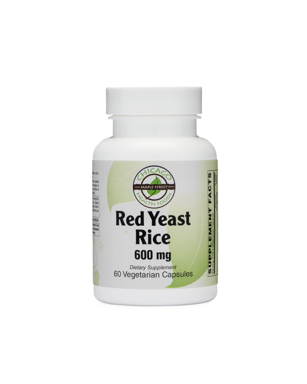 Red Yeast Rice 600mg-supplement-Chicago-Health-Foods