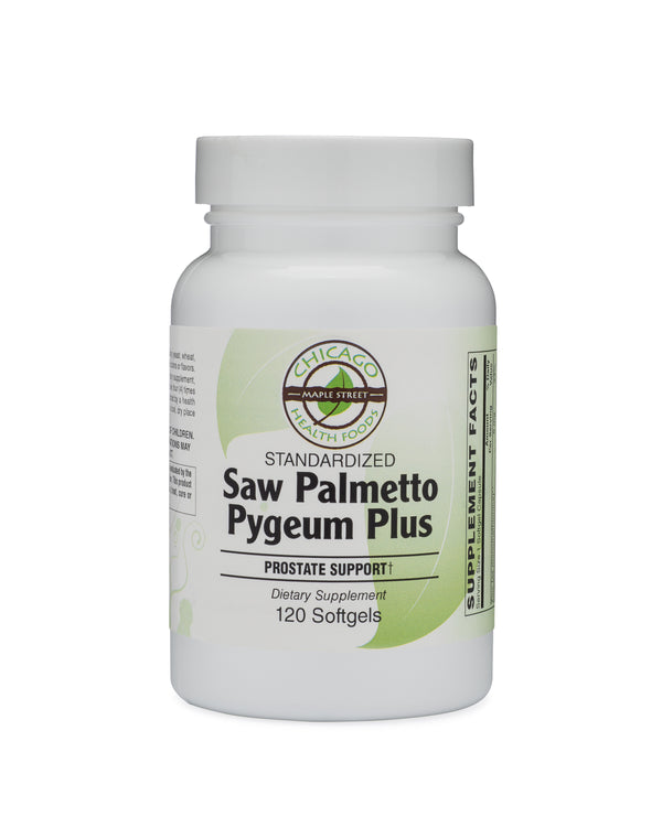 Saw Palmetto Pygeum standardized-supplement-Chicago-Health-Foods