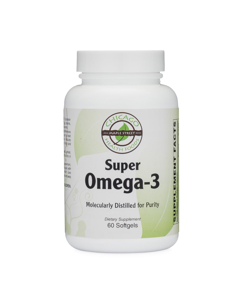 Super Omega 3 Fish oil-supplement-Chicago-Health-Foods